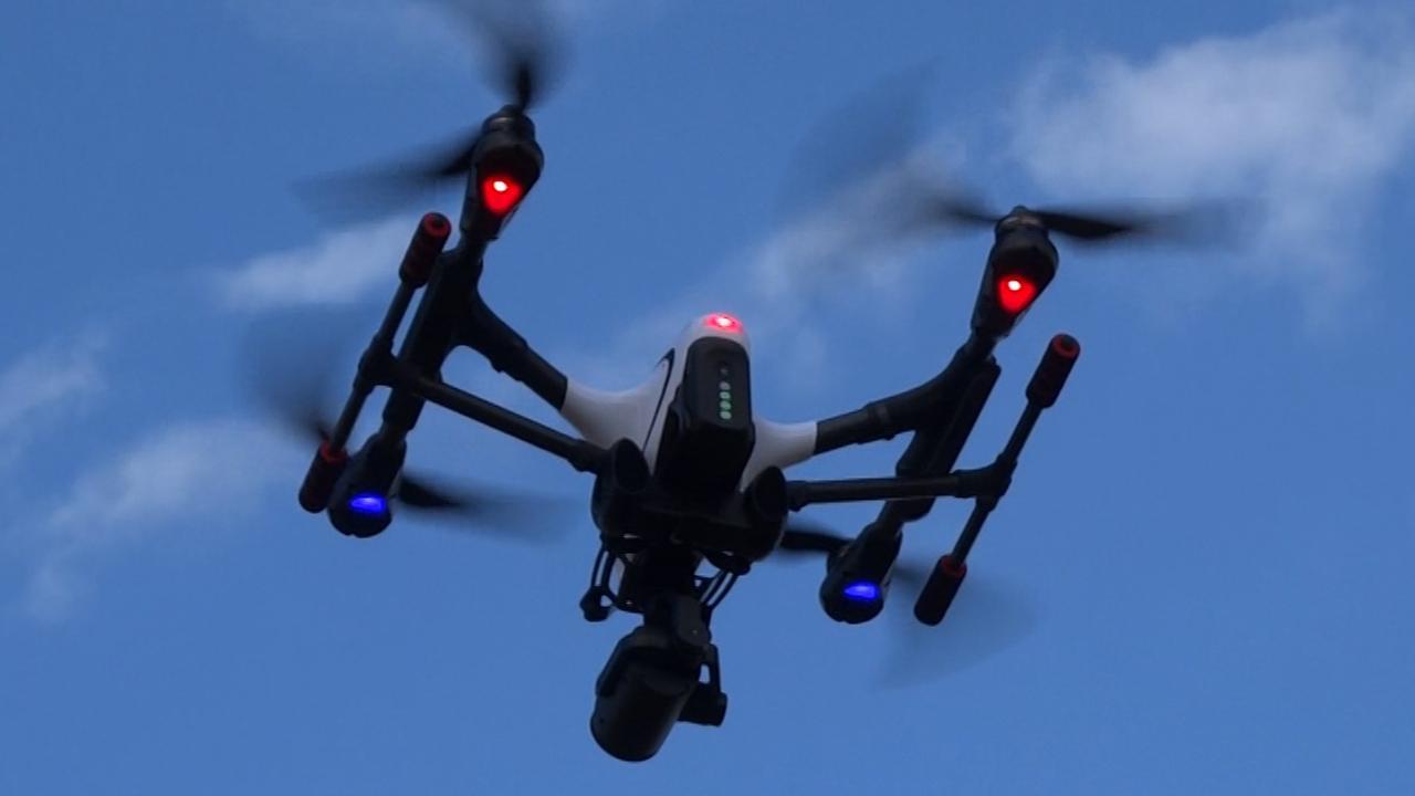 Drone Camera Zoom
